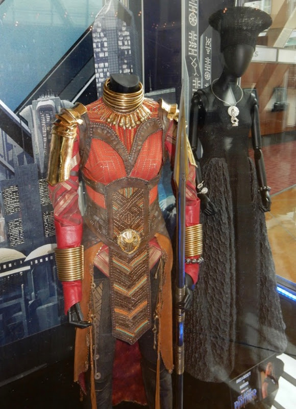 Okoye Black Panther movie costume