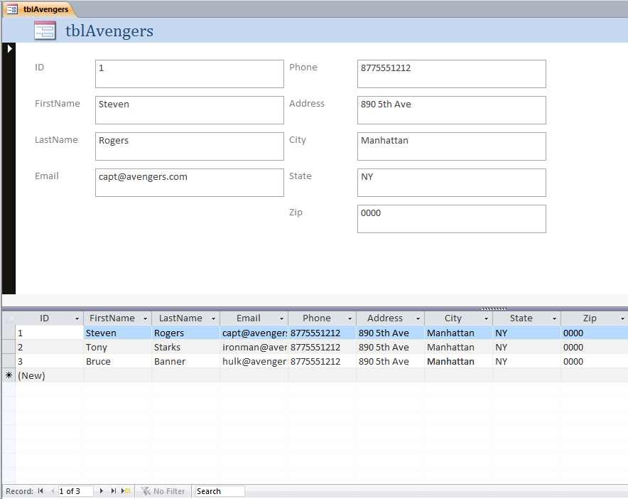 theDBguy's Access Blog: Hide Datasheet Columns in Split Forms
