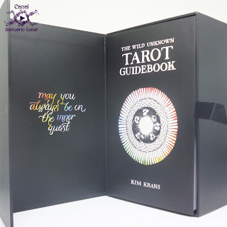 The Wild Unknown Tarot - Box (Open with Book)