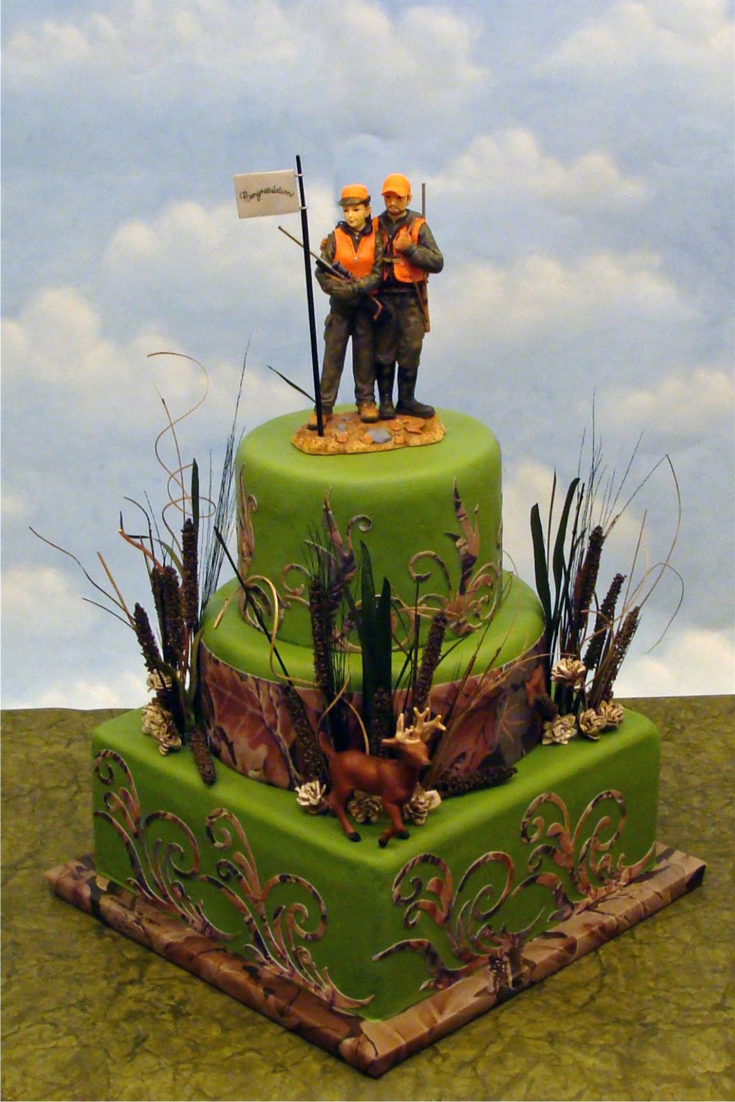 Creative Designs For Cakes Cake for Hunters