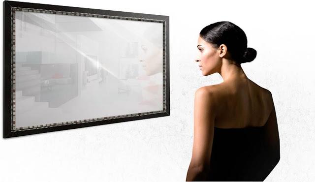 Miralay el espejo con televisión integrada