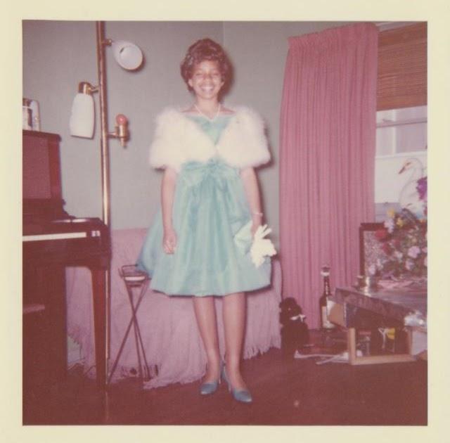 Vintage Snapshots of People Wearing Mink Coats
