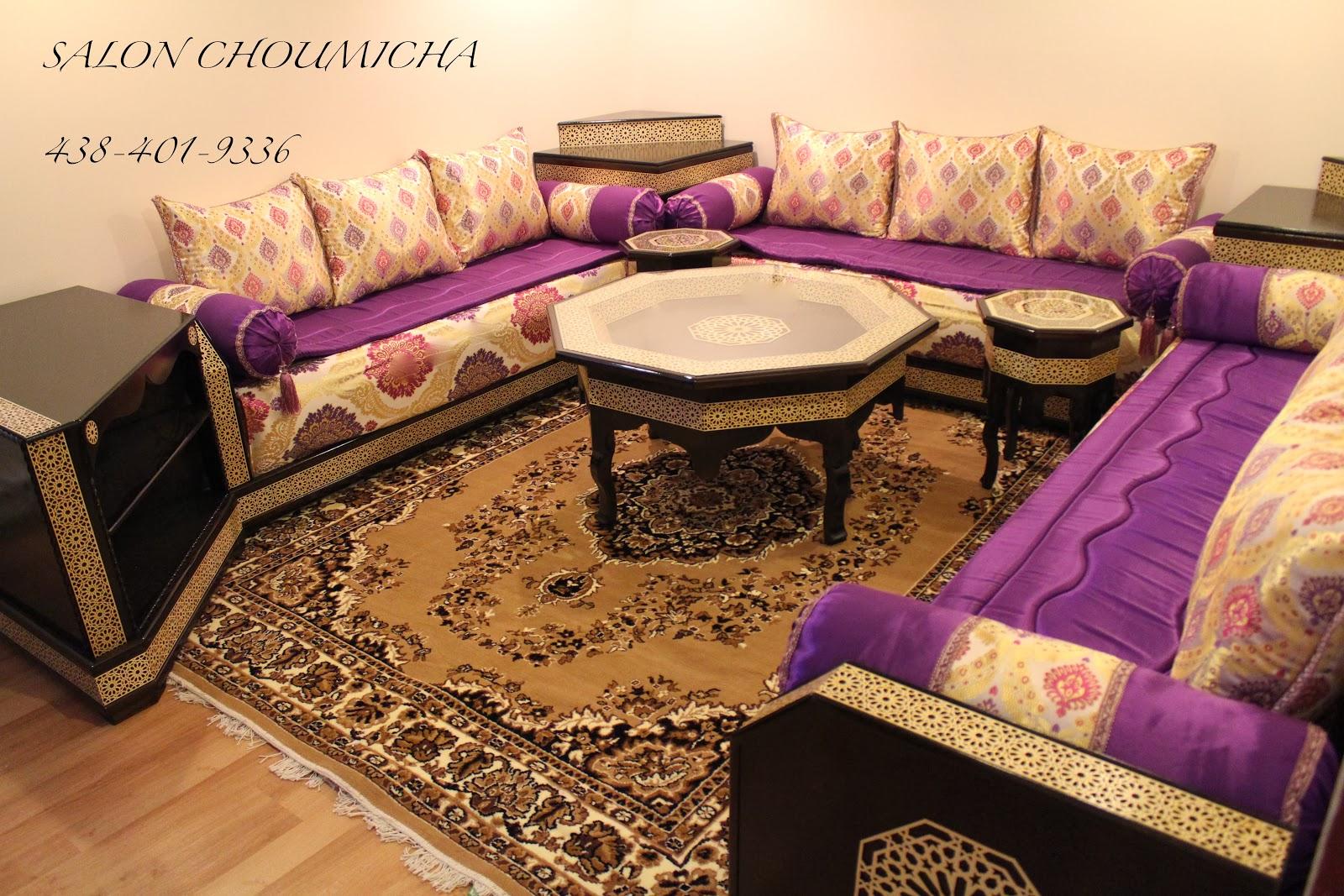 Nouveau Salon Marocain Moderne - Décoration de maison idées de ...