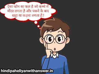 Hard Hindi paheliyan with answer part 1