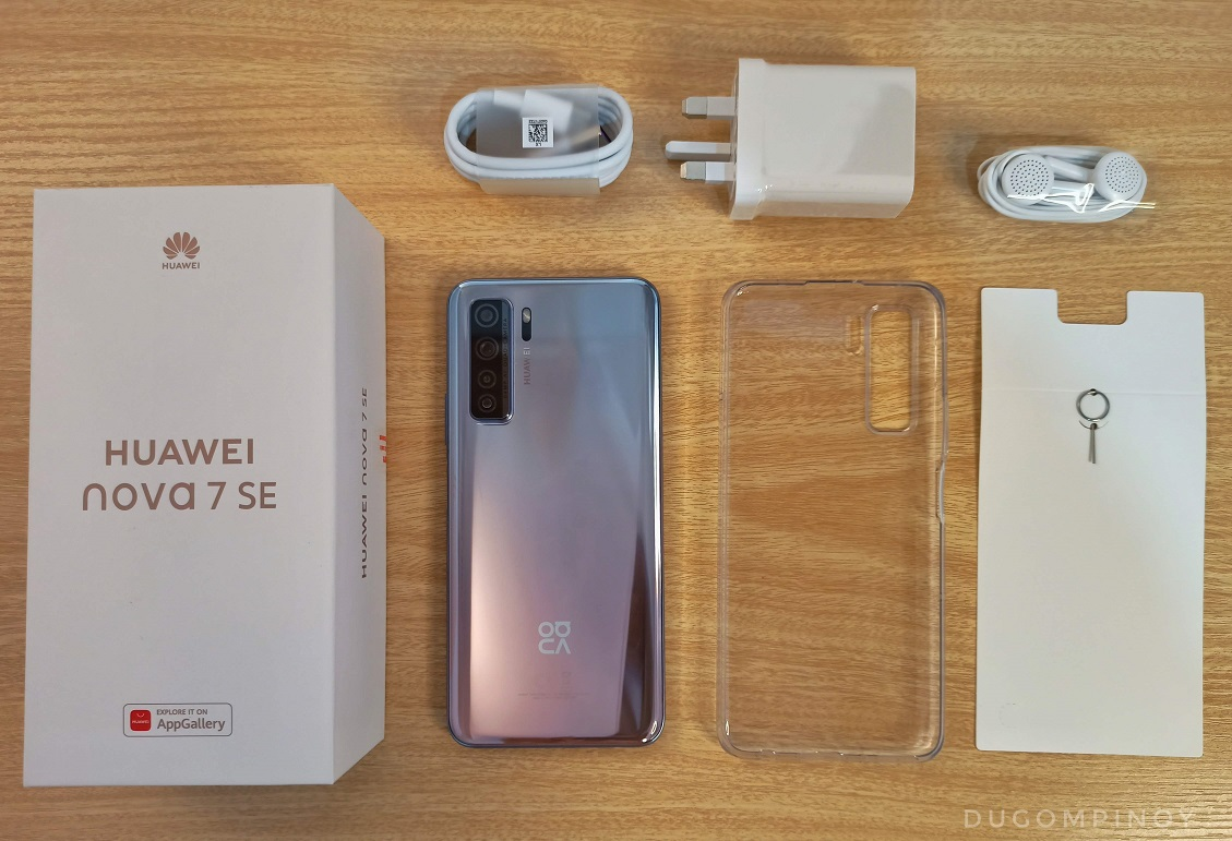 huawei nova 7 se 5g hands on review