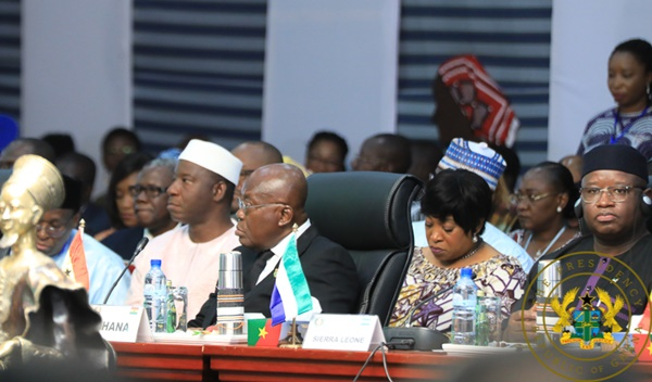 President Akufo-Addo Attends Sierra Leone's 6Oth Independence Celebration