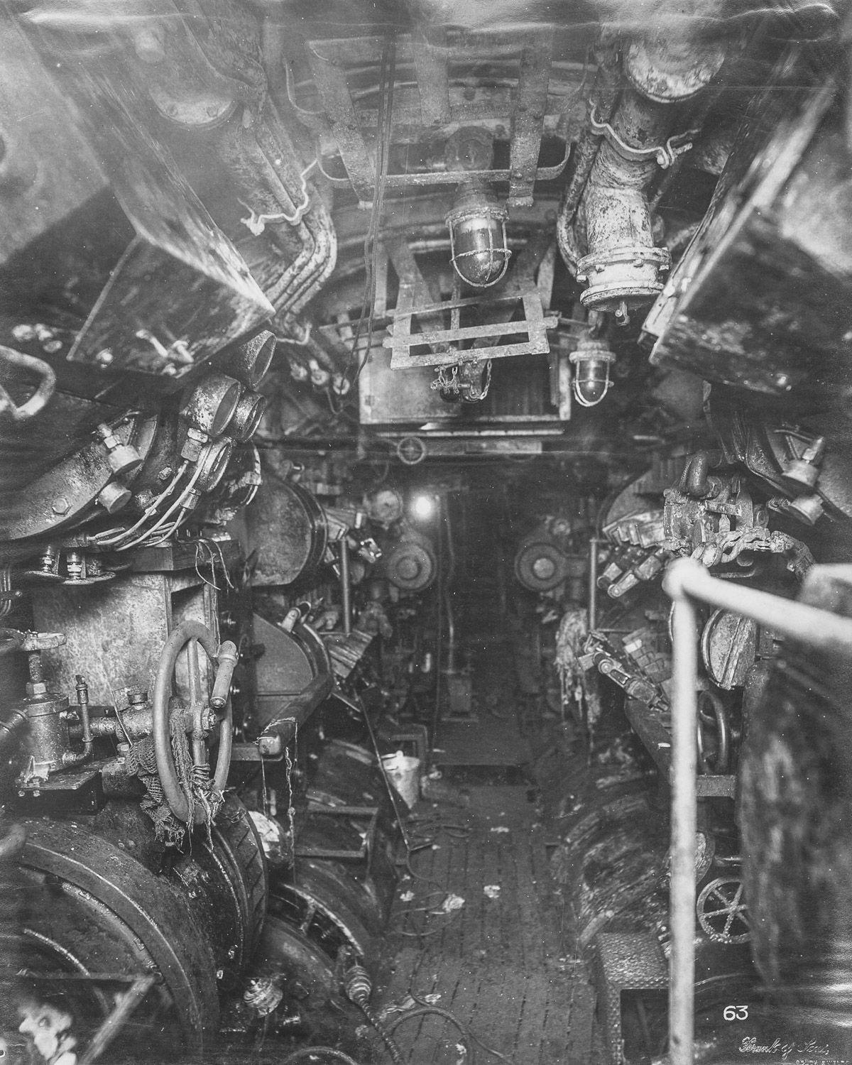 Boat Engine Room: U-Boat 110: Ghostly Images Give A Rare Glimpse Into The