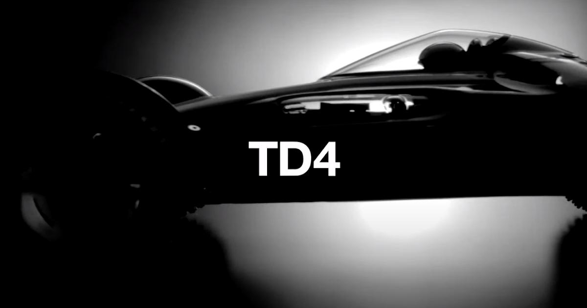 Tamiya TD4 chassis announced!