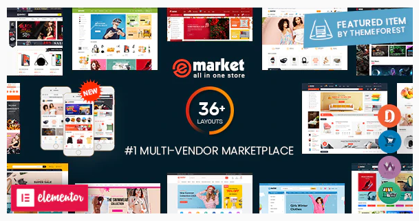 eMarket | 15+ Best Multipurpose WooCommerce WordPress Themes