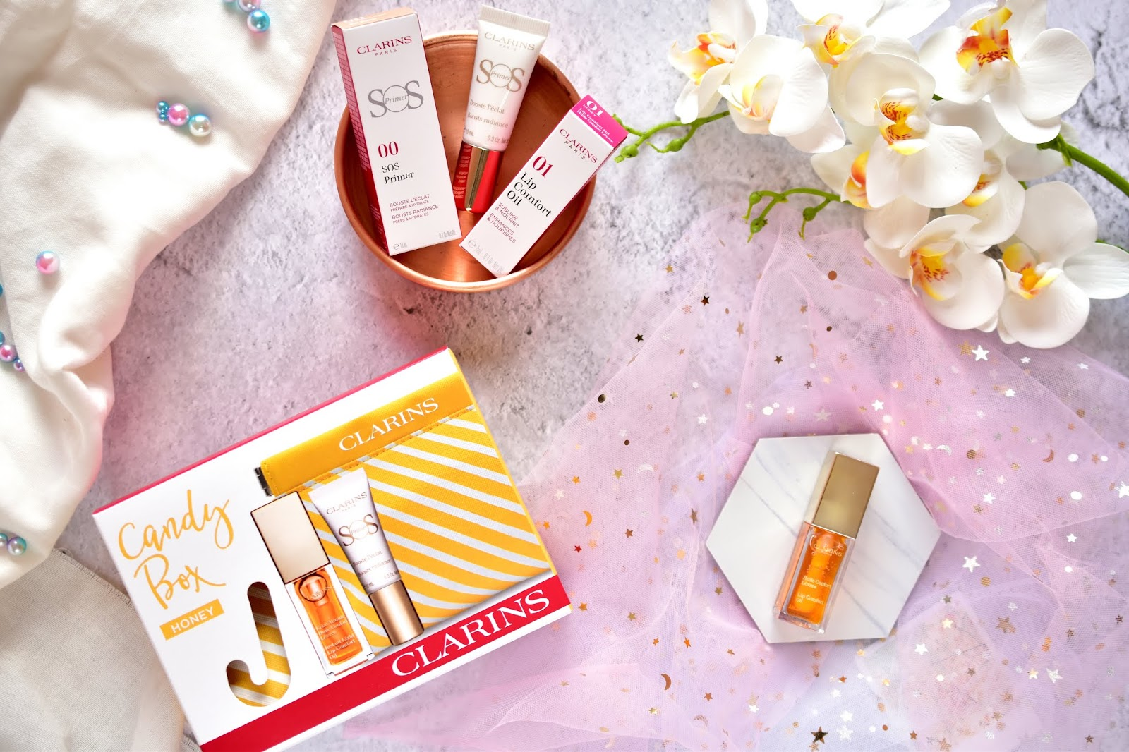 Clarins Honey Lip Oil
