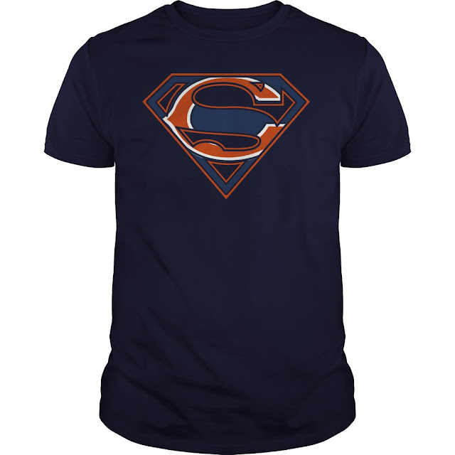 Chicago Bears Superman Logo Shirt