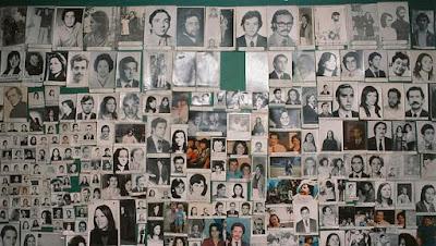 Imagens de desaparecidos na ditadura argentina
