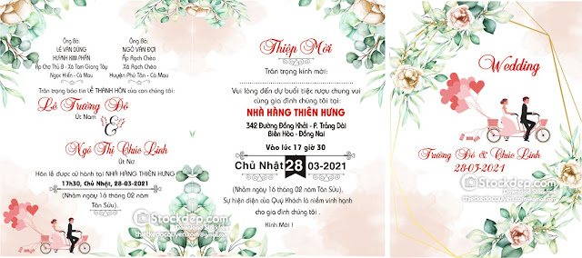 wedding invitation free download cdr