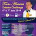 THE GREAT DEBATE - TUNKU ABDULLAH DEBATE CHALLENGE 2019 (TADC) THE GRAND FINALS AT ST. JOHN'S INTERNATIONAL SCHOOL, BUKIT NANAS