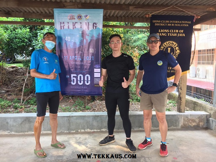 Bukit Beruang Hiking Challenge Organised by TS Brothers Studio Lions Club Melaka