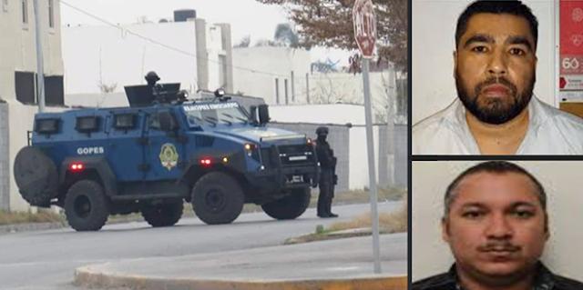 """Grupo de Operaciones Especiales de Tamaulipas """"GOPES"""" en Matamoros sitiando fraccionamientos dieron apoyo a elementos de la Policia Ministerial de la ciudad de Mexico"""