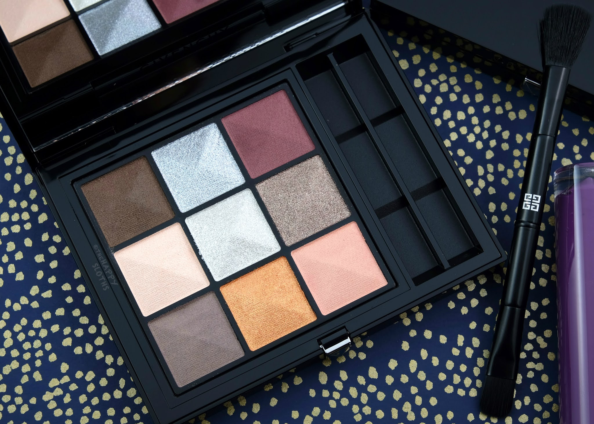 "Givenchy | Le 9 De Givenchy Eyeshadow Palette in ""Le 9.01"": Review and Swatches"