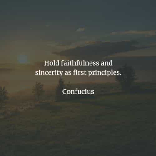 Famous quotes and sayings by Confucius