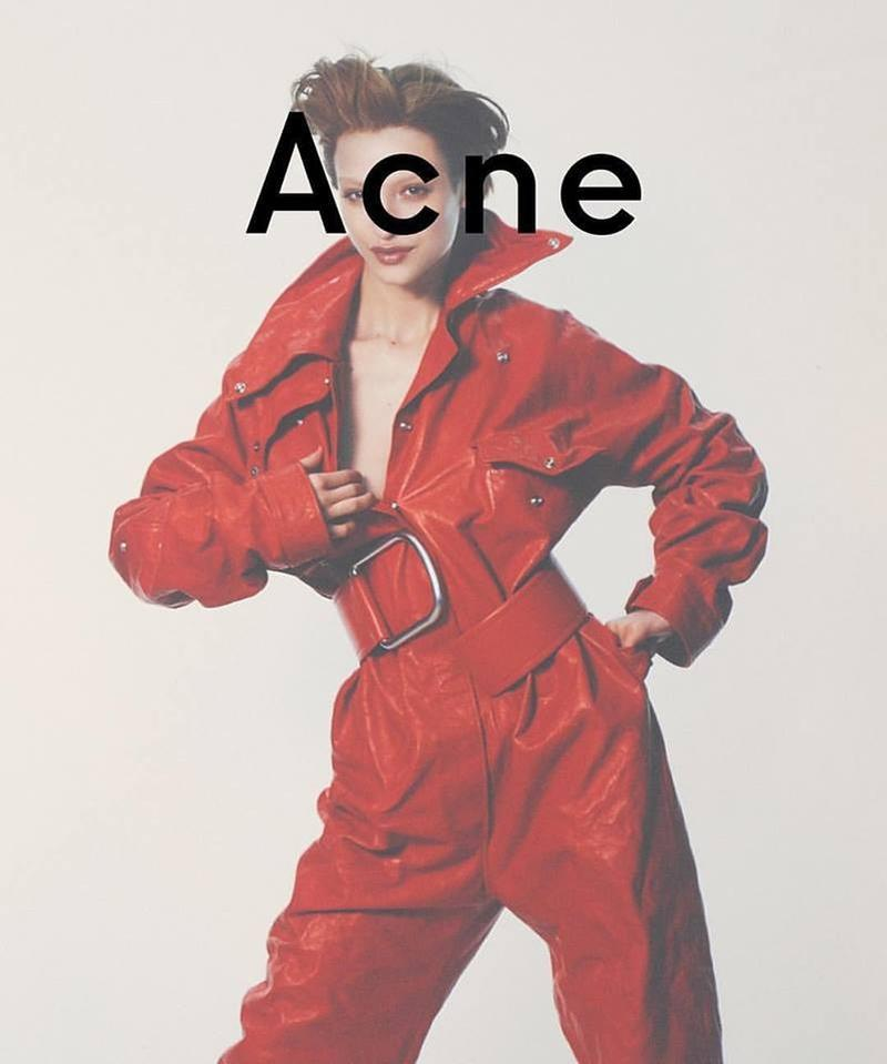 Lera Abova by David Sims for Acne Studios Autumn/Winter 2016 Campaign