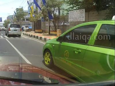 Penampakan taksi Puspa Jaya (1)