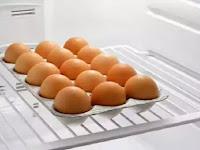 Penelitian, Bahaya!! Simpan Telur Dalam Kulkas