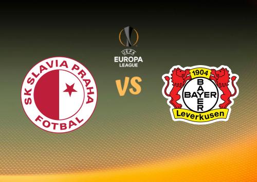 Slavia Praha vs Bayer Leverkusen  Resumen