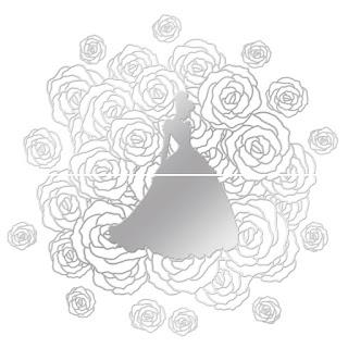 迪士尼磁磚,卡通磁磚,公主玫瑰,Disney tiles