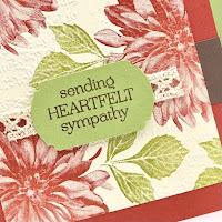 Sale-a-Bration Favorite: Stampin' Up! Delicate Dahlias Sympathy Card + Video ~ www.juliedavison.com #stampinup #saleabration