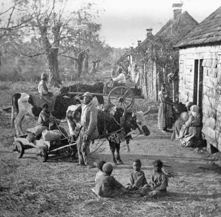 Imparare con la storia 73 l 39 america nel xix secolo for Cabina nelle montagne della carolina del nord