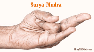 Surya Mudra for Weight Loss