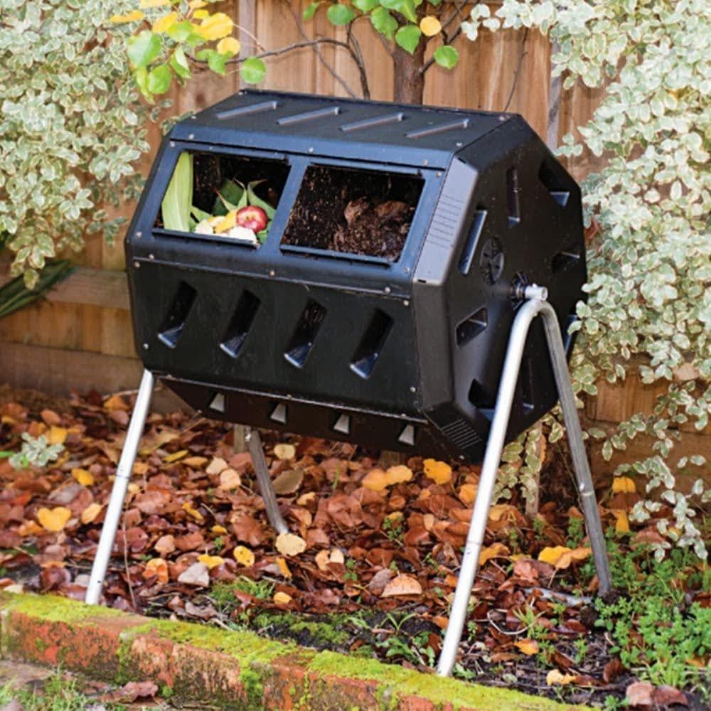 IM4000 Dual Chamber Tumbling Composter | Photo via Amazon