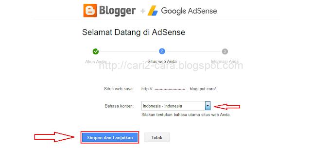 Salah satu cara supaya blog Anda sanggup menghasilkan uang yaitu dengan menjadi publisher dar Cara Daftar Google Adsense Terbaru