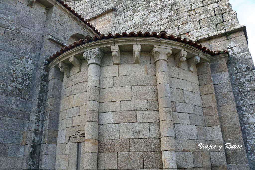 Abside del Monasterio de Xunqueira de Espadanedo