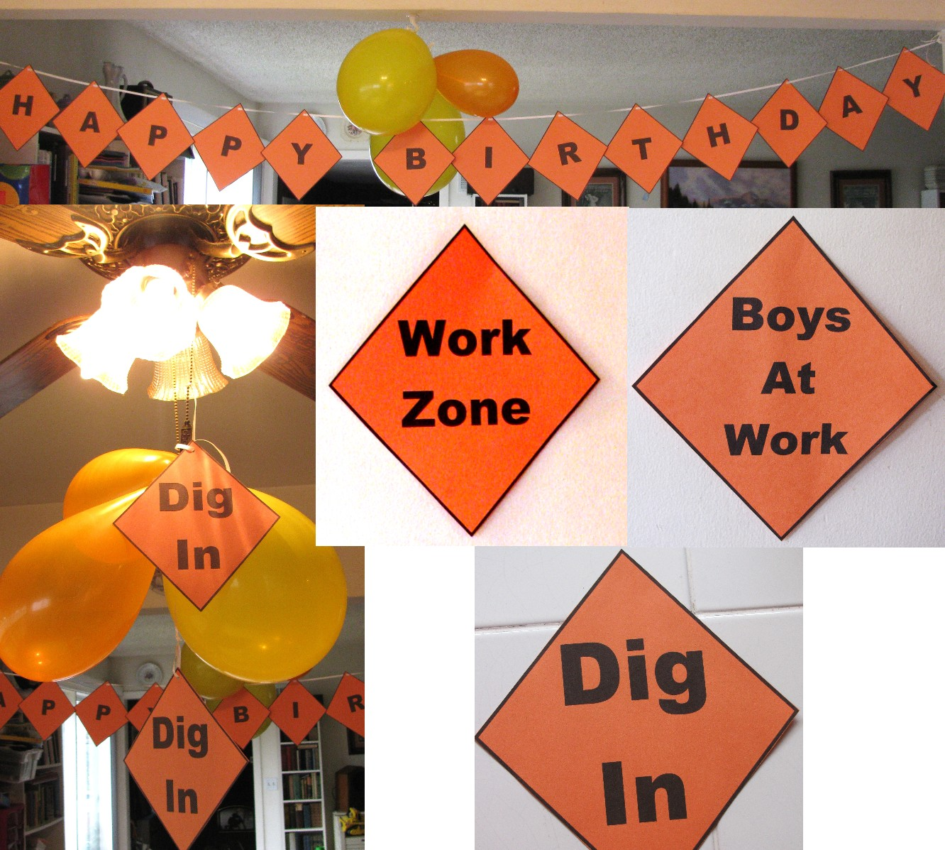 Construction Party Free Printables