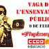 9 FEBRER VAGA A L'ENSENYAMENT PÚBLIC #9fvagaensenyament