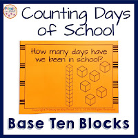 Counting Days of School with Base Ten Blocks