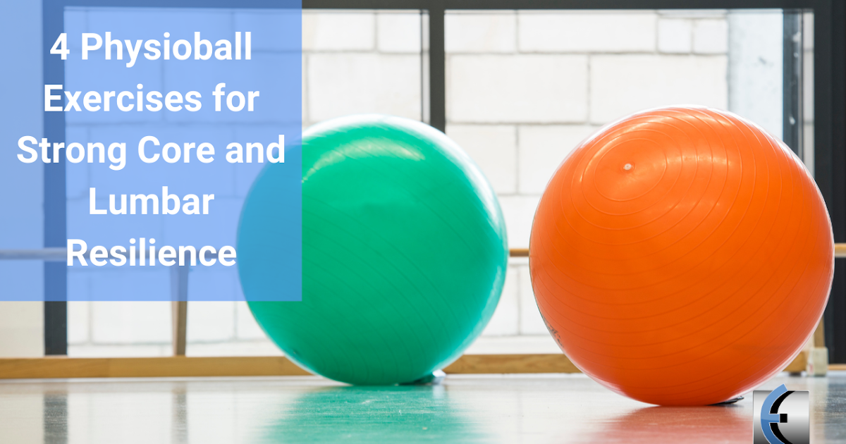 Photo of Top 4 Fridays! 4 Physioball exercises for strong truncated cone and lumbar resilience | Modern Manual Therapy Blog