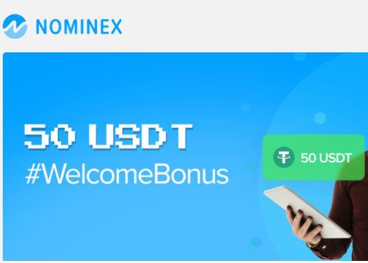 Bonus Crypto Tanpa Deposit Nominex 50 USDT