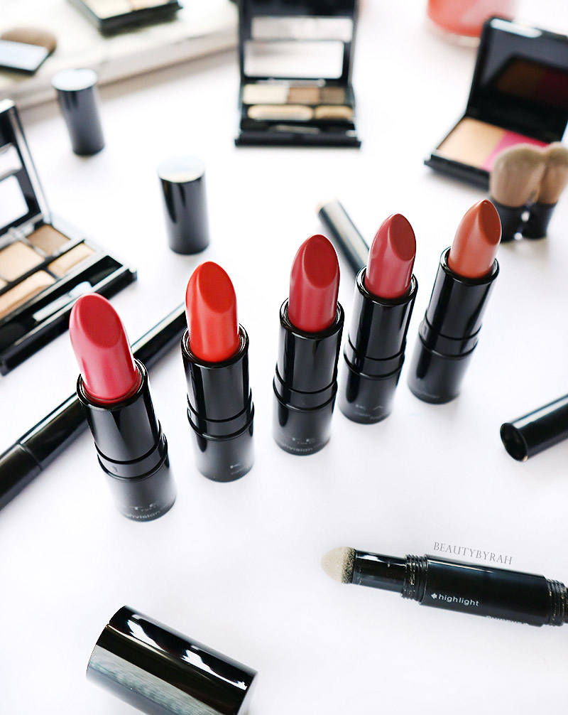 Kate Fall Winter Color Highvision Rouge Lipstick Review and Swatches