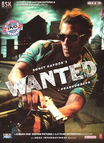 Poster of Wanted 2009 720p Hindi BRRip Full Movie Download