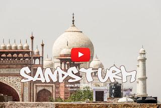 Sandsturm am Taj Mahal | INDIEN | WELTREISE