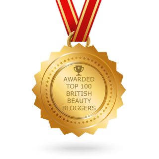 Awarded Top 100 Beauty Bloggers