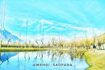 Katpana lake,Skardu Baltistan