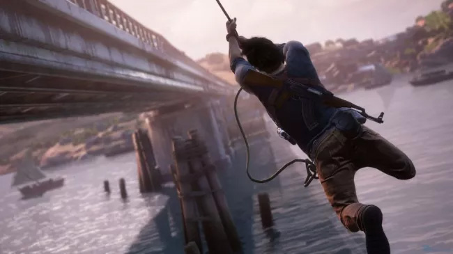 Download Uncharted 4 for free with the free PS Plus games for April