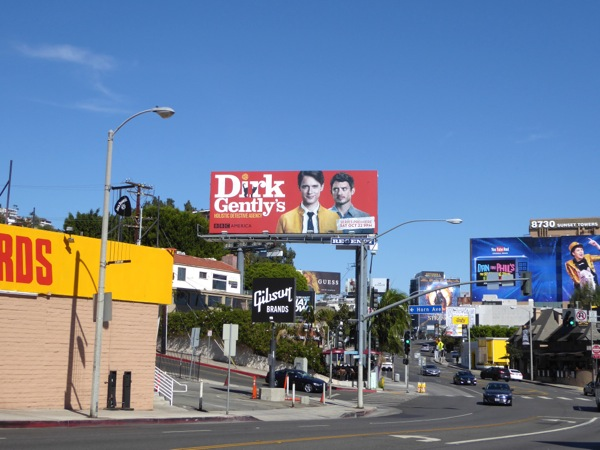 Dirk Gently TV billboard