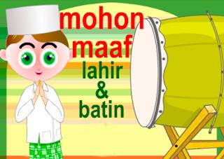 KANG NATA mengucapkan  HARI RAYA IDUL FITRI : MINAL 'AIDIN WAL FAIZIN MOHON MAAF LAHIR DAN BHATIN