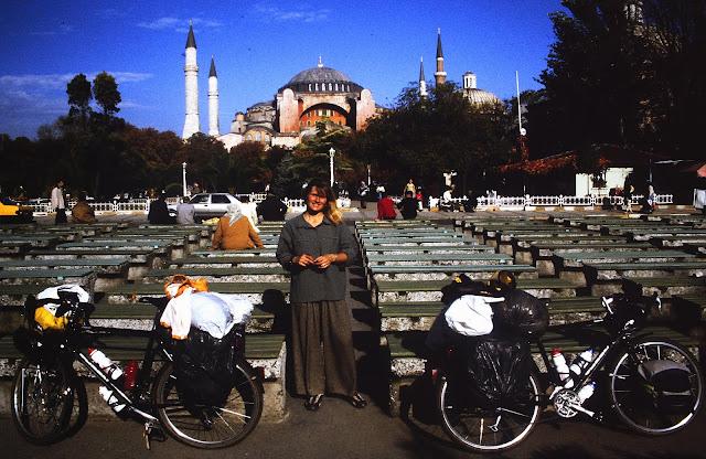 Long Distance Cycle trip to Hagia Sophia, Turkey
