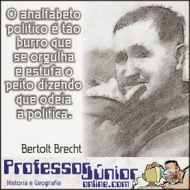 Eleições 2014 - Bertolt Brecht
