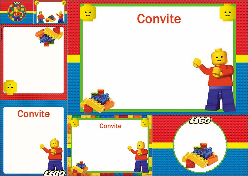 Lego Party Free Printable Invitations Oh My Fiesta for Geeks – Lego Party Invitations Printable