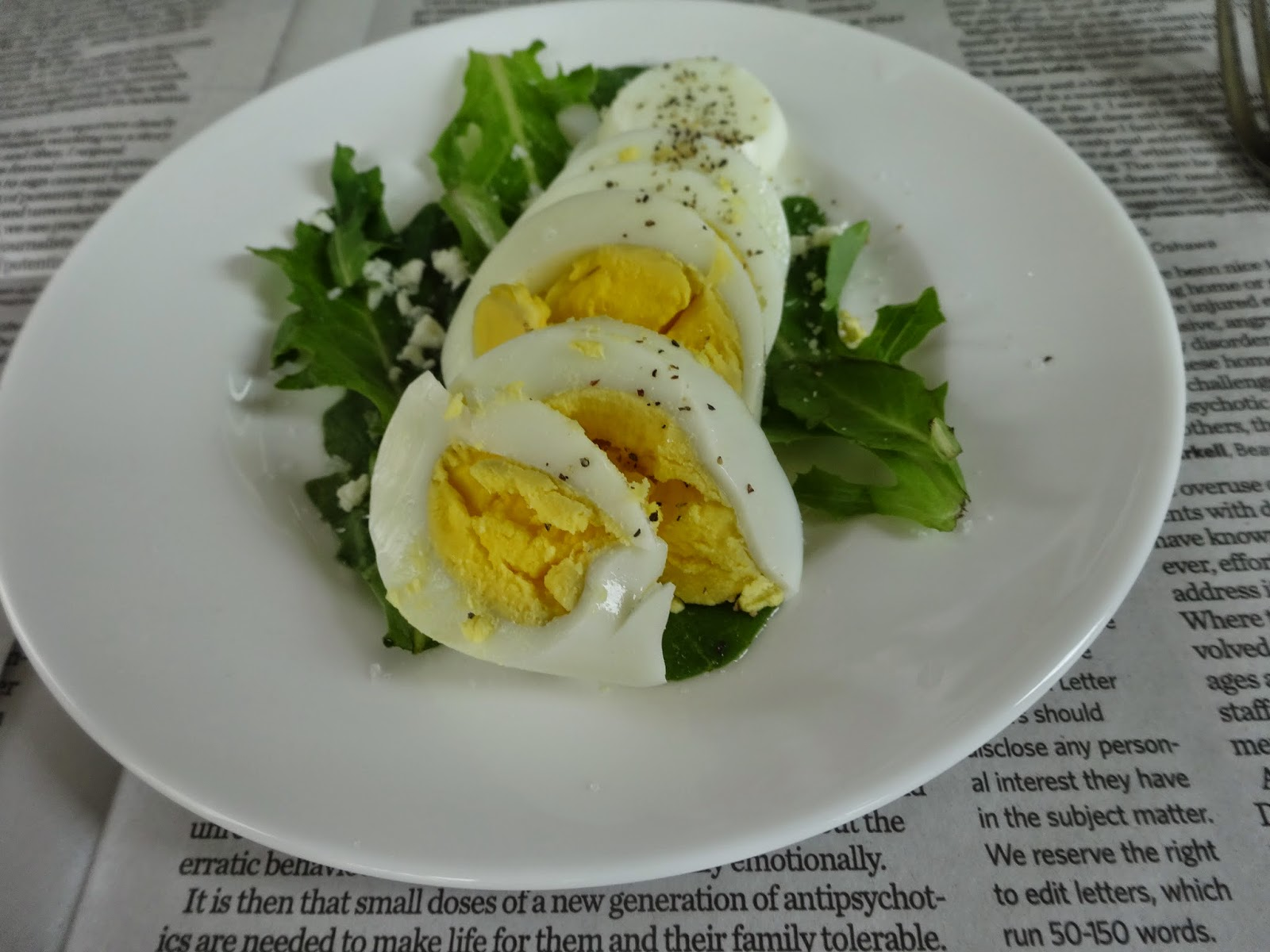 salad, egg, simple, diy ,healthy